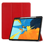 Trifold Smart Case Stand for 2018 Apple iPad Pro (11-Inch) - Red